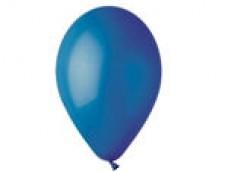 Baloni 29cm, zili, GEMAR, 100 gab.