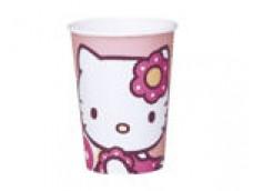 "Papīra glāzes ""Hello Kitty"" (10 gab.)"