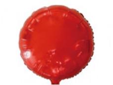 Folijas balons 81cm aplis, sarkans