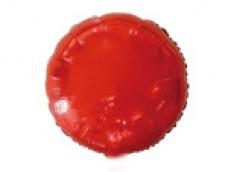 Folijas balons 46cm aplis, sarkans