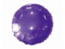 Folijas balons 46cm aplis, lillā