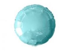 Folijas balons 46cm aplis, zils, gaiši