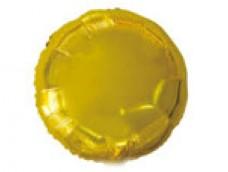 Folijas balons 81cm aplis, zelta