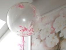 """Balonu dekors ar hēliju un konfeti """"Princese"""""""