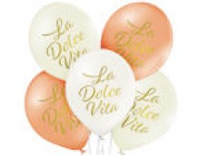 """Baloni pērļu mix """"La Dolce Vita"""", BelBal, 29cm"""