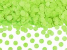 Konfeti 15g paciņa, papīra, zaļš, ābolu
