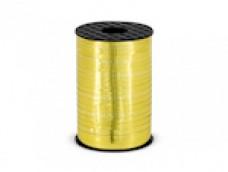 Lentīte zelta, metālika 5mm (225m)