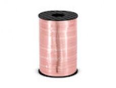 Lentīte zelta, rozā, metālika 5mm (225m)