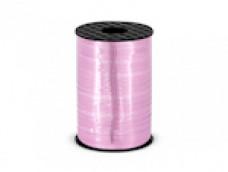 Lentīte rozā, gaiši, metālika 5mm (225m)