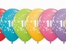 "Baloni Cipars ""10"" QUALATEX (5 gab.)"