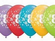 "Baloni Cipars ""8"", QUALATEX (5 gab.)"