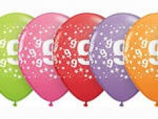 "Baloni Cipars ""9"", QUALATEX (5 gab.)"