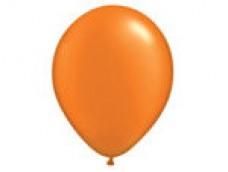 Baloni pērļu, oranži,  QUALATEX, 29cm