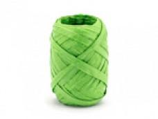 Lentīte zaļa, rafijas, 5mm (10m)