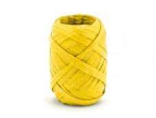Lentīte dzeltena, rafijas, 5mm (10m)
