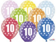 "Baloni Cipars ""10"", BelBal, 29cm"
