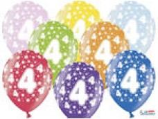 "Baloni Cipars ""4"", BelBal, 29cm"