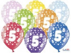 "Baloni Cipars ""5"", BelBal, 29cm"
