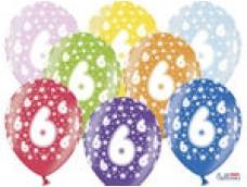 "Baloni Cipars ""6"", BelBal, 29cm"