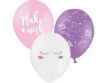 """Baloni Vienradzis """"Make a wish!"""", BelBal, 29cm"""