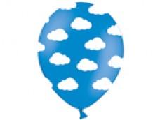 Baloni mākoņi, balti/zili, BelBal, 29cm