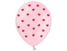 Baloni Sirsniņas rozā/sarkanas, BelBal, 29cm