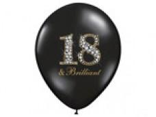 "Baloni Cipars 18 - ""Brilliant"", briljants, 29cm"