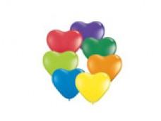 Baloni 15cm, QUALATEX - sirsniņas