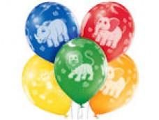 "Baloni Dzīvnieki, ""Zoo Animals"", BelBal, 29cm"