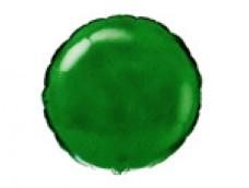 Folijas balons 46cm aplis, zaļš