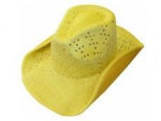 Kovboja cepure - dzeltena
