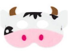 Gotiņa - maska