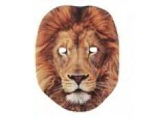 Lauva - maska, kartona