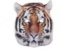 Tīģeris - maska, kartona