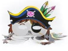 """Maska """"Pirāts"""" 3 (6 gab.)"""