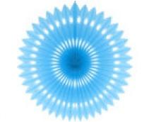 Zīdpapīra rozete, zila 40cm