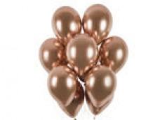 Baloni metāliski, hroma, zelta, rozā, GEMAR, 33cm