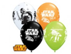 """Baloni """"Star Wars"""" - zvaigžņu kari, QUALATEX, 29cm"""