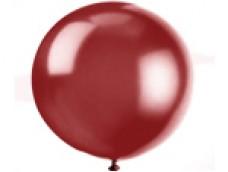 Baloni sarkanvīna, caurspīdīgi, 89cm, JUMBO