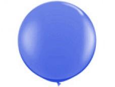 Baloni zili, karaliski, 89cm, JUMBO
